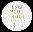 A3CERT_ISO-9001,-14001